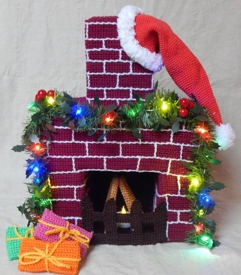 Häkelanleitungen Weihnachtsdeko