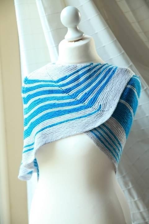 Jokulsarlon Shawl - Knitting (en) bei Makerist sofort runterladen