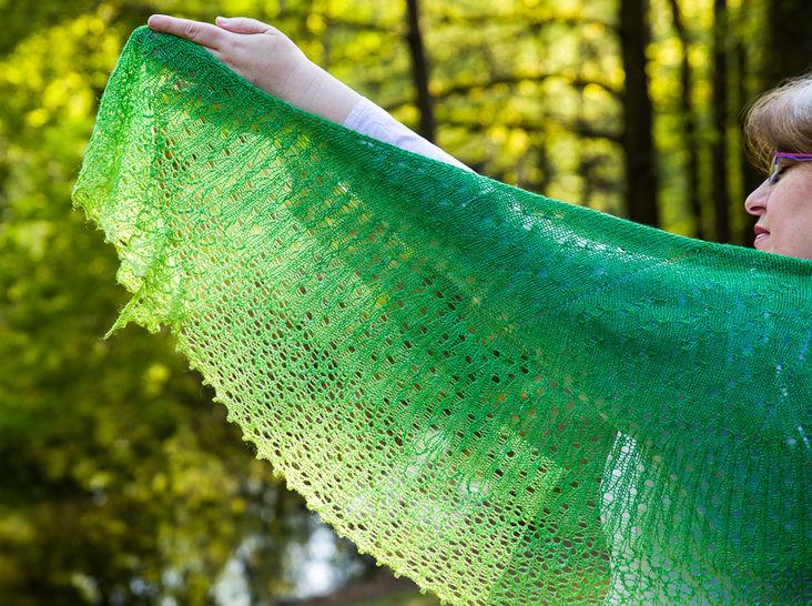 Sparkling Rain Shawl - Knitting (en) - Strickanleitungen bei Makerist sofort runterladen