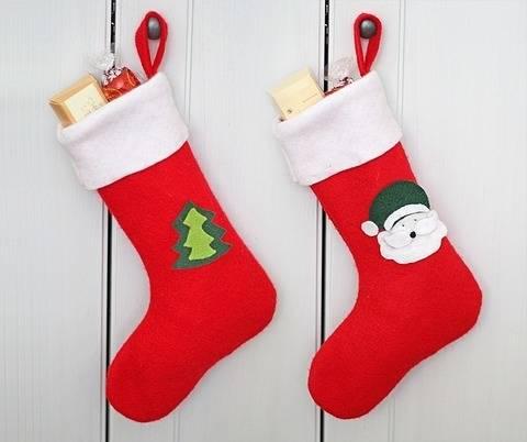 Nähanleitung Nikolausstiefel für Nikolaus und Weihnachten  bei Makerist sofort runterladen