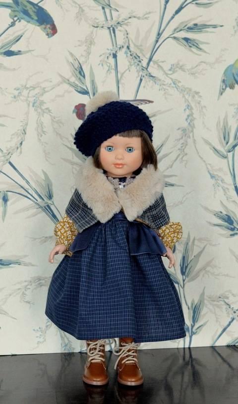 """Télécharger """"Belle sur la land"""" Patron de vêtements de poupée de 40 cm type Marie-Françoise de Petitcollin tout de suite sur Makerist"""
