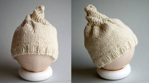 Mütze Baby °Spiralschneckenmütze° Baby orimono bei Makerist sofort runterladen