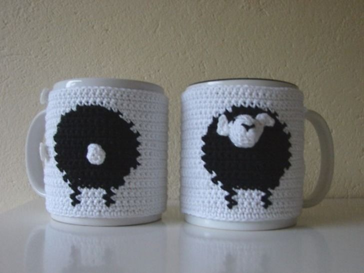 Download Mug cosy sheep - crochet pattern - Crochet Patterns immediately at Makerist