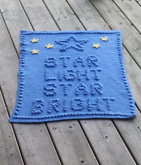Download Star Light Star Bright Baby Blanket - Crochet Patterns immediately at Makerist