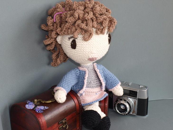 Häkelanleitung Puppe Coco auf Englisch - Häkelanleitungen bei Makerist sofort runterladen