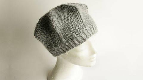 Anleitung Barett °Stern° orimono Mütze stricken bei Makerist sofort runterladen