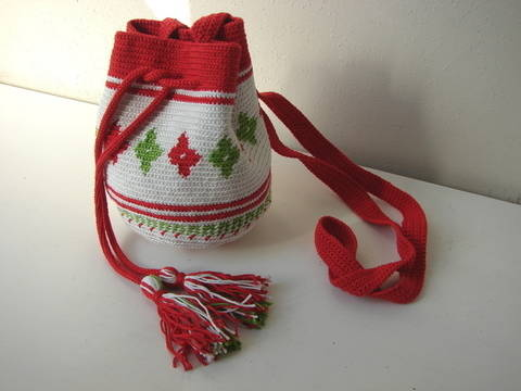 Download Mochila bag small - crochet pattern immediately at Makerist