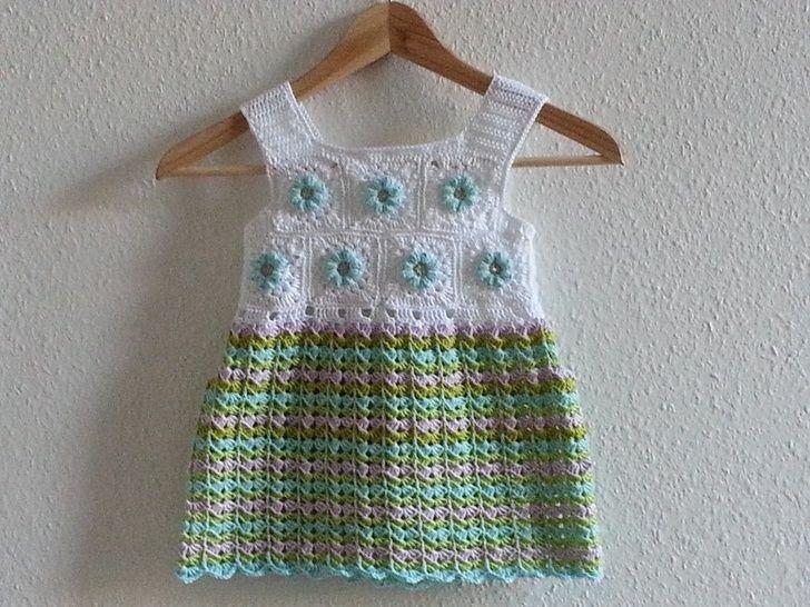 """Sommer Tunika-/Kleid """"Mila"""", Häkelanleitung - Häkelanleitungen bei Makerist sofort runterladen"""