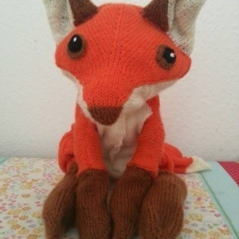 Fuchs, Strickanleitung bei Makerist sofort runterladen