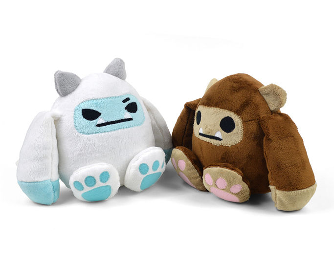 Bigfoot & Yeti Plush Toy Sewing Pattern