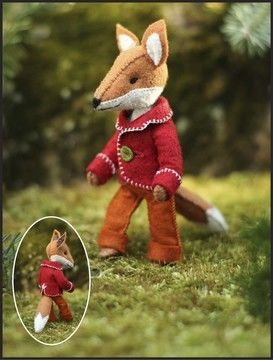 Download Felix Fox pattern - step-by-step instructions and illustrations - Sewing Patterns immediately at Makerist
