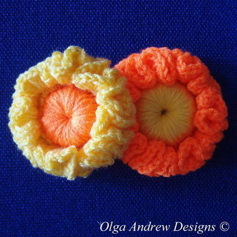 Download Flower crochet pattern 031 immediately at Makerist