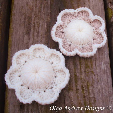 Download Seven petal flower crochet pattern 050 immediately at Makerist