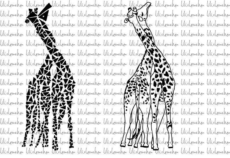 Plotterdatei > giraffes < Plottermotiv - Plotterdateien bei Makerist sofort runterladen