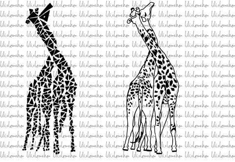 Plotterdatei > giraffes < Plottermotiv bei Makerist sofort runterladen
