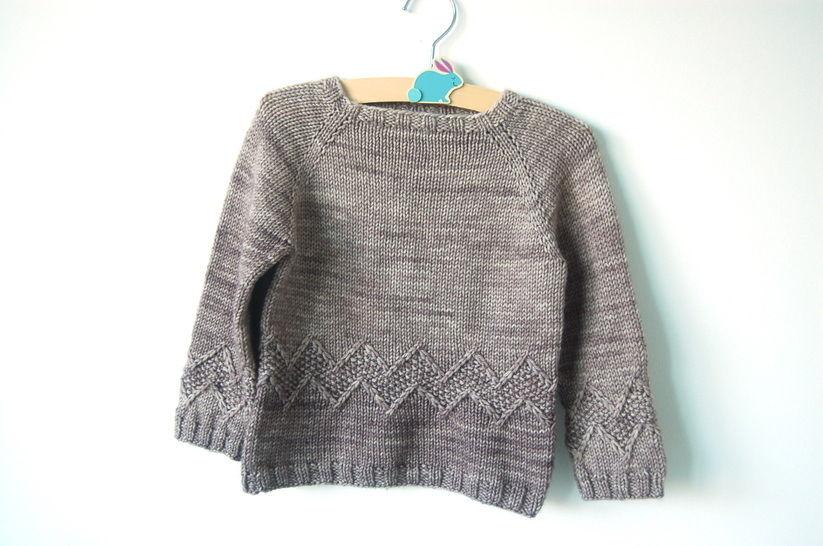 Chuck baby and child unisex sweater - knitting pattern (en) - Strickanleitungen bei Makerist sofort runterladen