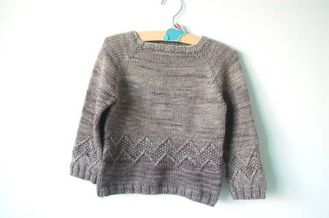 Chuck baby and child unisex sweater - knitting pattern (en) bei Makerist sofort runterladen