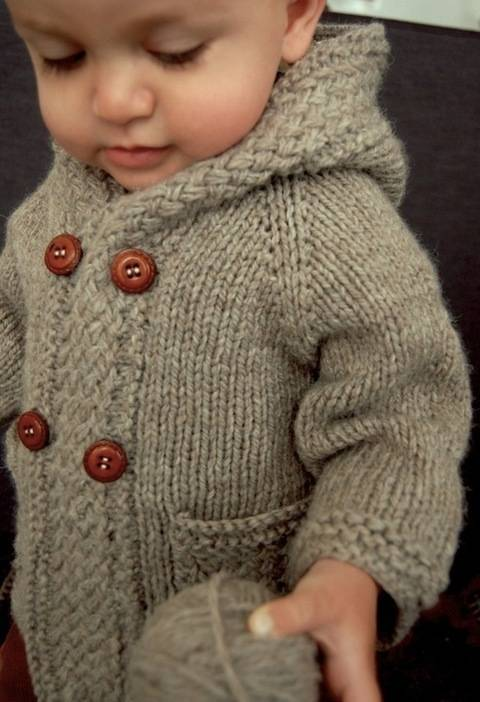 Latte baby coat - knitting pattern (en) bei Makerist sofort runterladen