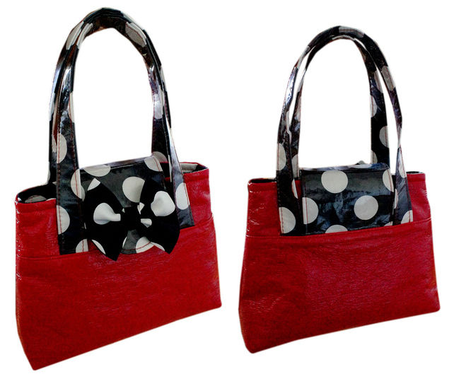 Download Girls Bag , Tote, Sewing Pattern with Video Tutorial - Sewing Patterns immediately at Makerist