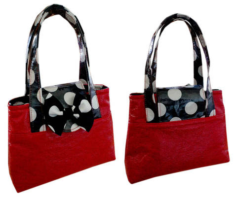 Download Girls Bag , Tote, Sewing Pattern with Video Tutorial immediately at Makerist