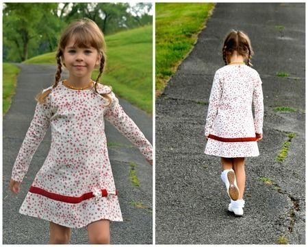 Download Tunic Dress with Raglan Sleeves for  Jersey - Sewing Patterns immediately at Makerist