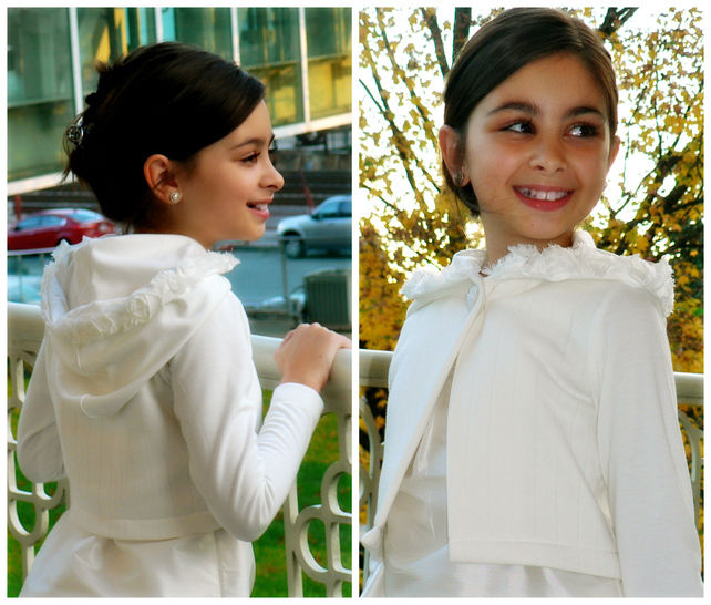 Download Cardigan PDF Pattern, Girls cropped Jacket - Sewing Patterns immediately at Makerist
