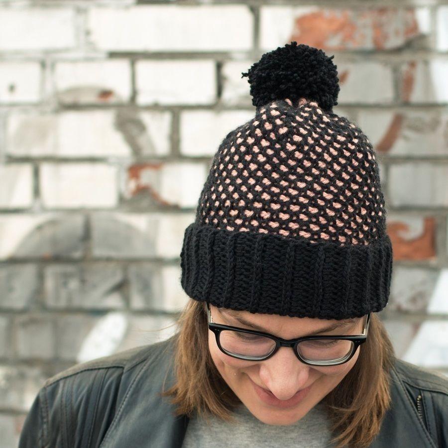 Tunisian Crochet Pattern Hat Charlie