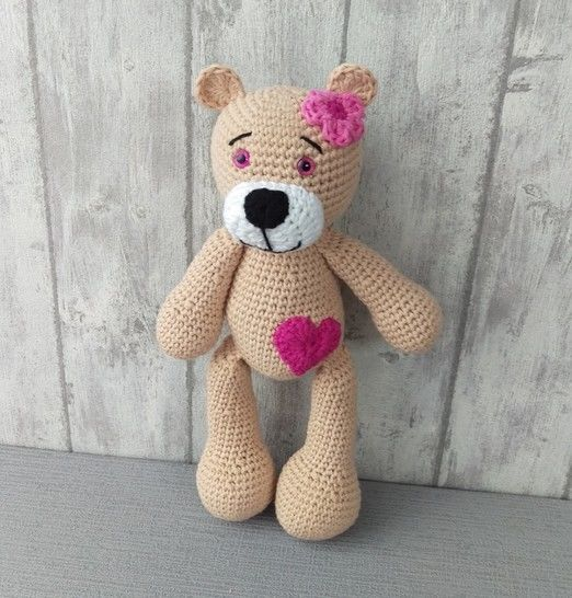 Download Crochet Pattern Teddy - HANKIDS - Crochet Patterns immediately at Makerist