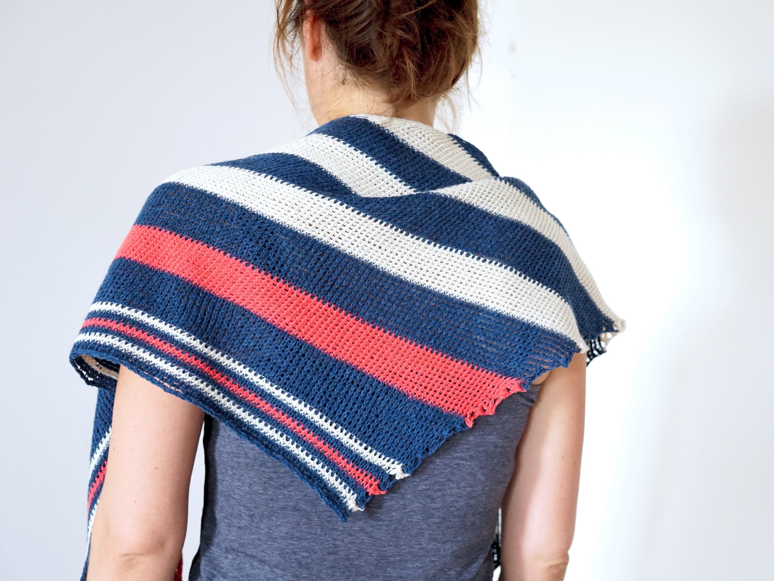 Tunisian crochet pattern