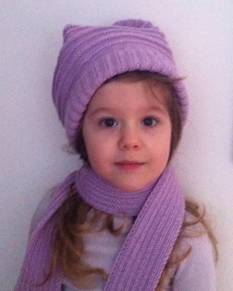 Elemiah Schal und Mütze für Mädchen Strickanleitung bei Makerist sofort runterladen