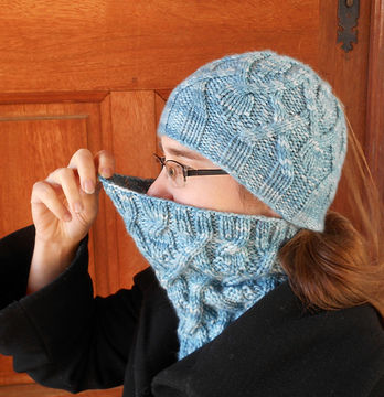 Download Amadare cowl - Knitting Patterns immediately at Makerist