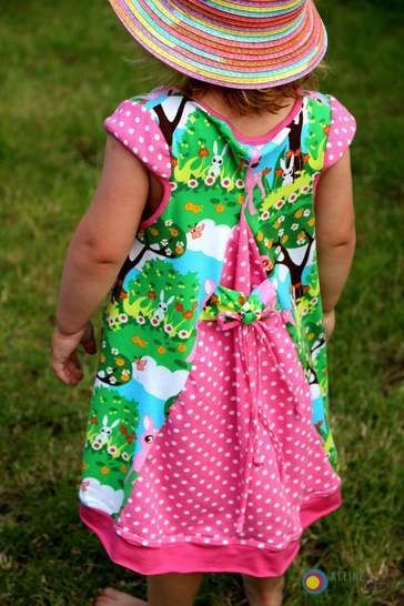 ShirtyLu Girl mit bebilderter Nähanleitung und Schnittmuster - Nähanleitungen bei Makerist sofort runterladen