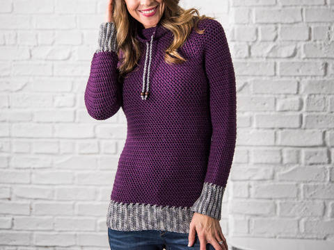 Download My Favorite Crochet Pullover Women immediately at Makerist
