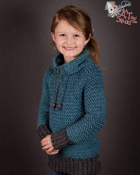 Download My Favorite Crochet Pullover Children  immediately at Makerist