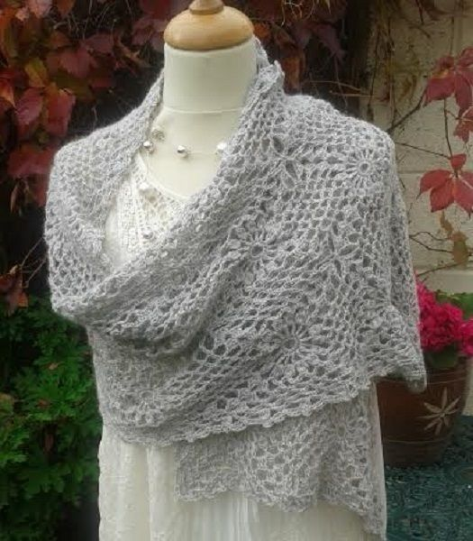 Alpaca Crochet Wrap Pattern