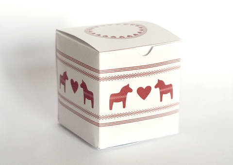 Ebook weihnachtliche Geschenkschachtel zum Selberdrucken bei Makerist sofort runterladen