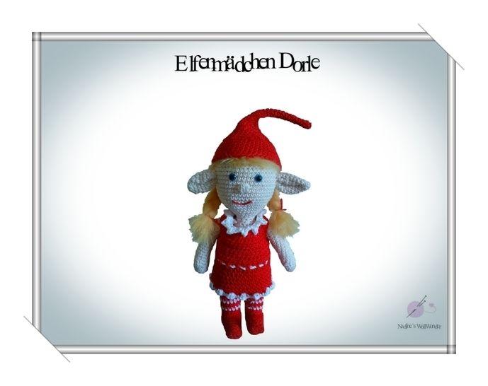 Häkelanleitung: Elfenmädchen Dorle - Häkelanleitungen bei Makerist sofort runterladen