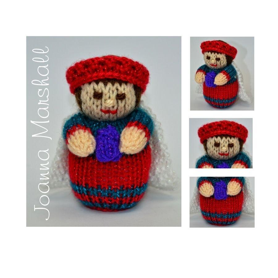Nativity King Doll Knitting Pattern