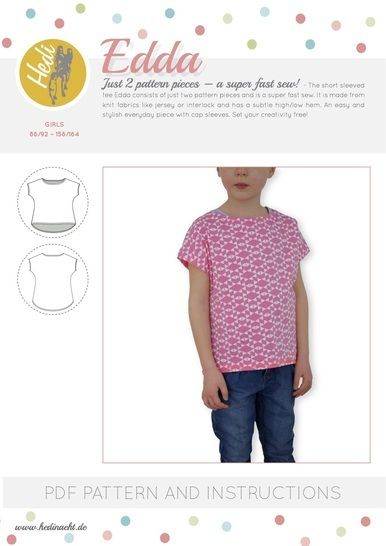 "Download ""Edda"" - Sewing Patterns immediately at Makerist"