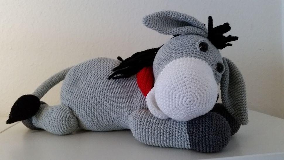 Donnie Donkey - Häkelanleitung - Häkelanleitungen bei Makerist sofort runterladen