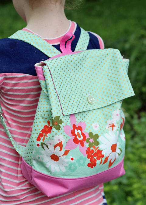 Download Backpack Sewing Pattern in Adult and Child Size immediately at Makerist