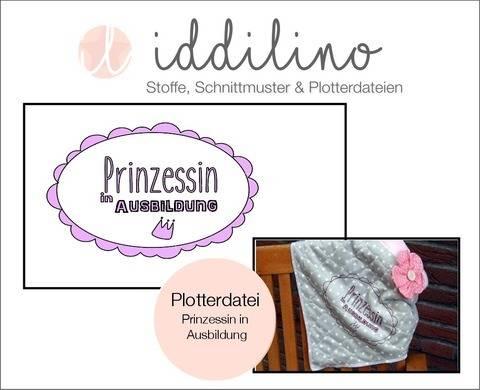 Prinzessin in Ausbildung - Plotterdatei  bei Makerist sofort runterladen