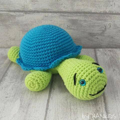 Download Crochet Pattern Turtle immediately at Makerist