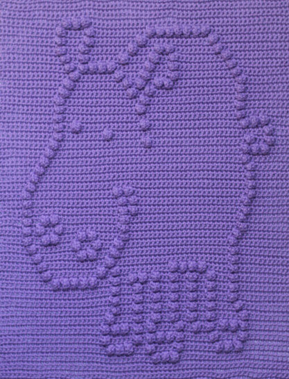 Download Hippo Baby Blanket - Crochet Patterns immediately at Makerist