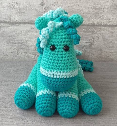 Download Crochet Pattern Horse immediately at Makerist