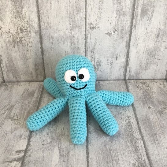 Crochet Pattern Octopus Enchanting Octopus Crochet Pattern
