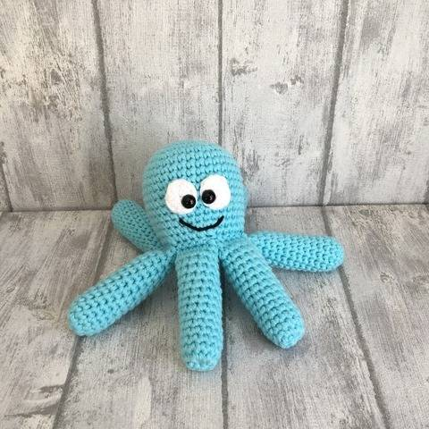 Download Crochet Pattern Octopus immediately at Makerist