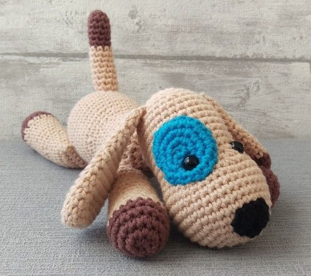 Download Crochet Pattern Doggy - Crochet Patterns immediately at Makerist