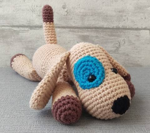 Download Crochet Pattern Doggy immediately at Makerist