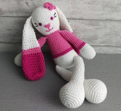 Download Crochet Pattern Bunny immediately at Makerist
